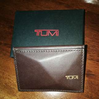 New authentic Tumi x Dror business card holder