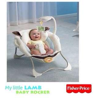 Fisher Price My Little Lamb Infant Seat Rocker Vibrating Seat