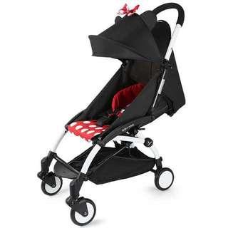 Free postage 🚚Mickey / Minnie Foldable Stroller