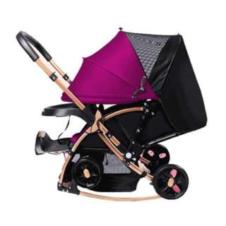 Royal Baby 2-in-1 stroller and rocker