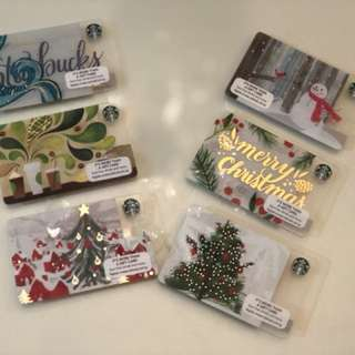 Starbucks Cards Collections