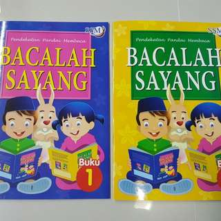 Malay Reading Book Set (Preschool)