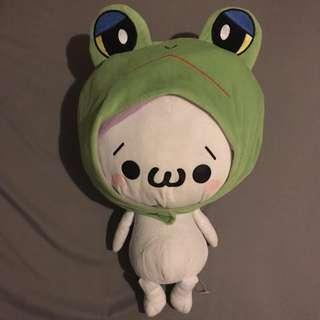 50cm高可拆青蛙🐸帽公仔