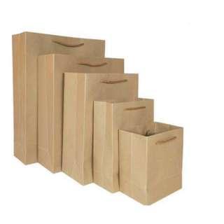 ✅INSTOCKS✅ Kraft Paper Bags Gift Bags Goodie Bags Premium quality