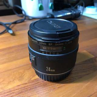 Canon EF 24mm 2.8 F made in japan