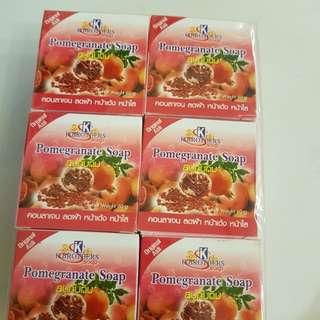 🚚 Pomegranate Soap (left 4)