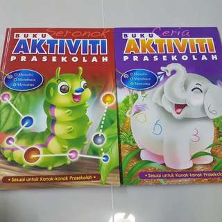 Malay Activity Book Set (Preschool)
