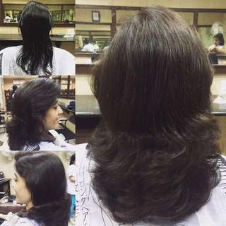 HAir Cuts, Henna Application, Hair SPA, Hair Colouring, Highlights/Streaks, Hot Oil Hair Theraphy