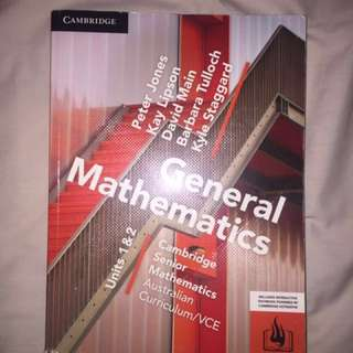 Cambridge Senior General Math VCE 1&2