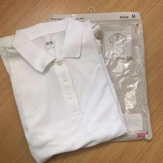 521b333fe white shorts sleeve polo | Women's Fashion | Carousell Philippines