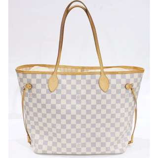Authentic LV neverfull azur
