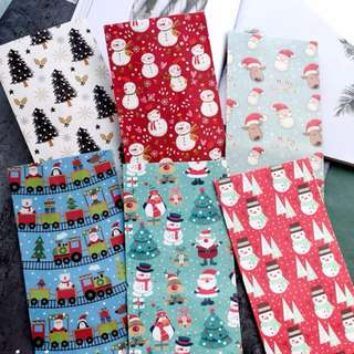 Christmas mini goodie /gift candy paper bags