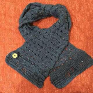 毛線編織造型圍巾