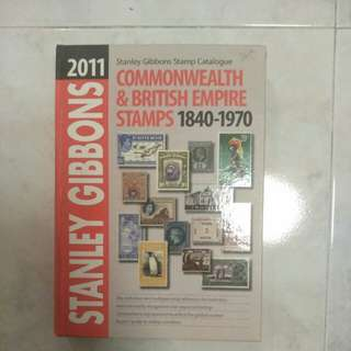 Commonwealth and british empire stamp catalogue