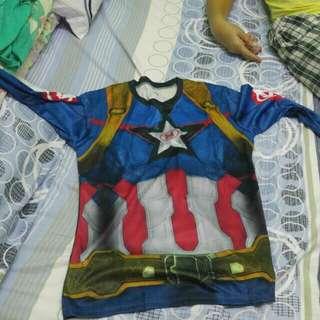 Astig na under armour thor and captain america rash guard
