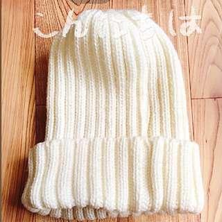 日本拍照美款針織毛帽#幫你省運費