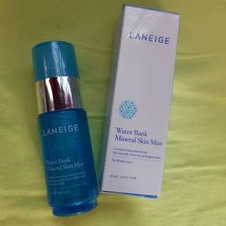 Laneige Water Bank Mineral Skin Mist 30ml