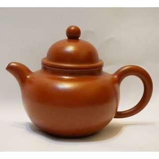 紫砂 茶壺 朱泥 掇球 150cc (宜興訂製,正品正貨)