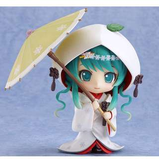 No. 303 Nendoroid Snow Miku: Strawberry White Kimono Ver.