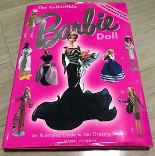 Barbie Collectible doll Book