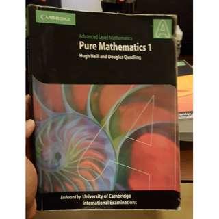 Pure Mathematics 1 A Levels