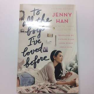 To All The Boys I've Loved Before (Filipino Edition) - Jenny Han
