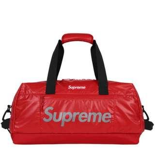 Sold Everywhere‼️ SUPREME DUFFLE BAG RED