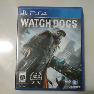Ps4 Watch Dogs rall