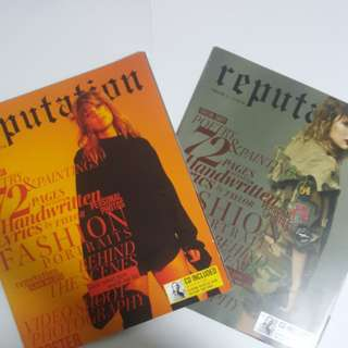 Reputation Magazines(unsealed)