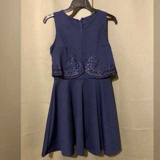 Bnew Navy Blue Dress