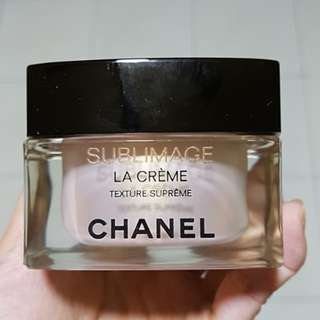 Chanel sublimage cream texture supreme
