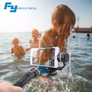 Feiyu SPG (New Splash Proof and Zoom Button) 3-Axis Handheld Gimbal for Smartphones and Action Camera
