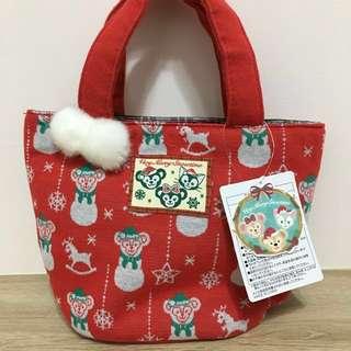 🚚 「現貨/免運」達菲雪莉梅 15週年聖誕節版手提袋