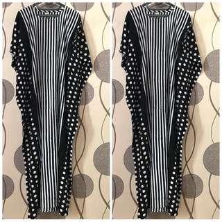 Batik black long lowo