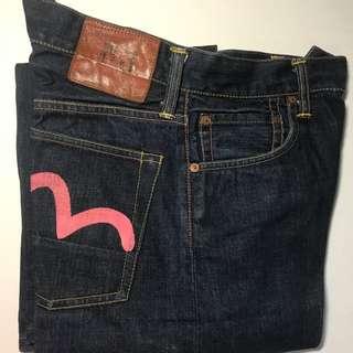 Evisu 牛仔褲 (男女適用)