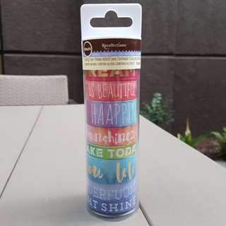 RECOLLECTIONS WASHI TAPE