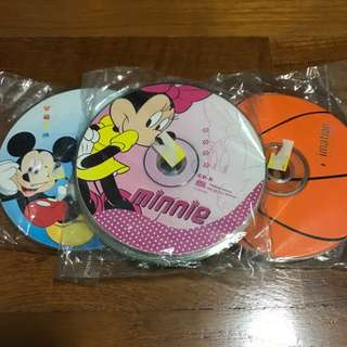 BN Blank CDs with printed designs