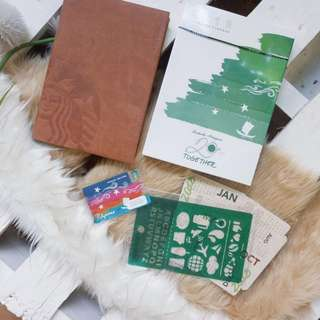 Starbucks 2018 Planner Sealed Brand New