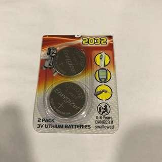 Energizer 2032 x 2 Batteries