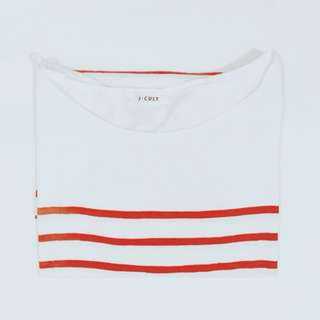 韓製 🇰🇷 紅白條紋上衣