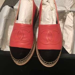 Chanel espadrilles 草鞋**減價