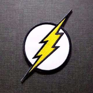 The Flash Logo Emblem DC Comics Iron On Patch