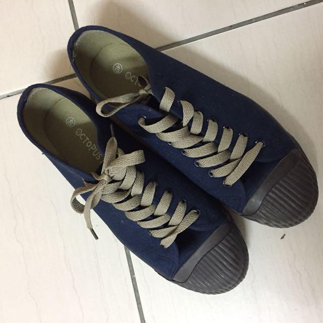 九成新40號🌟藍咖啡雙色鞋🌟