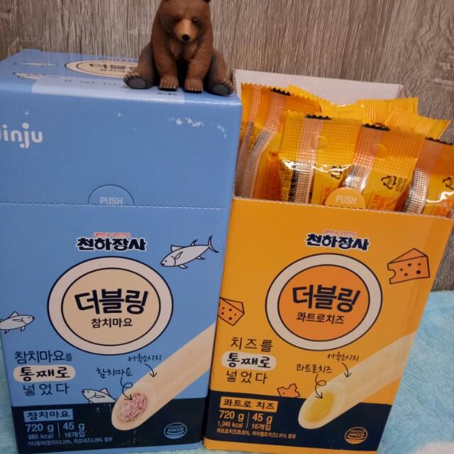 限量✨韓國7-11限定JINJU爆漿起司奶酪棒