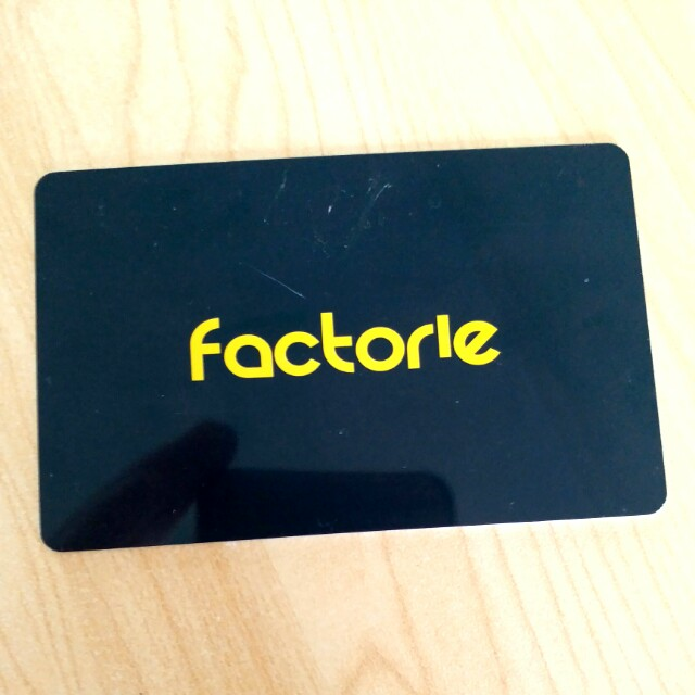$99.95 FACTORIE Gift Cars