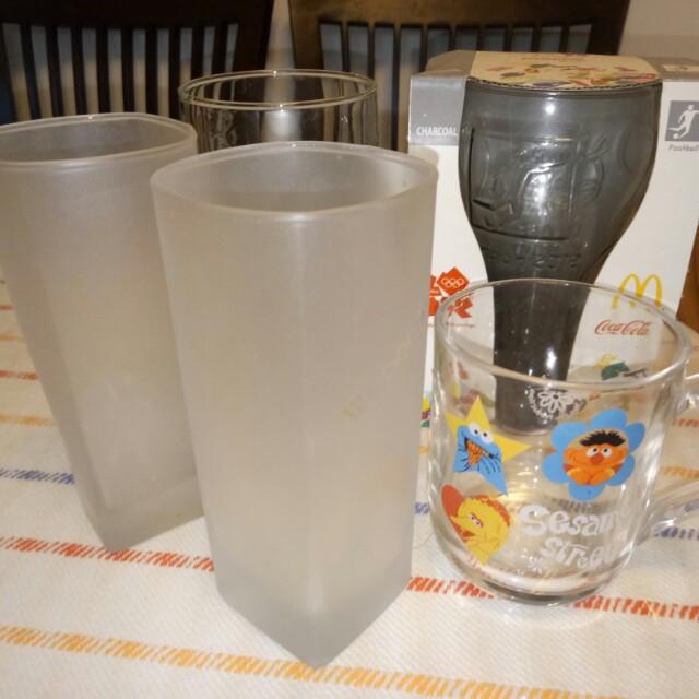 一些玻璃杯