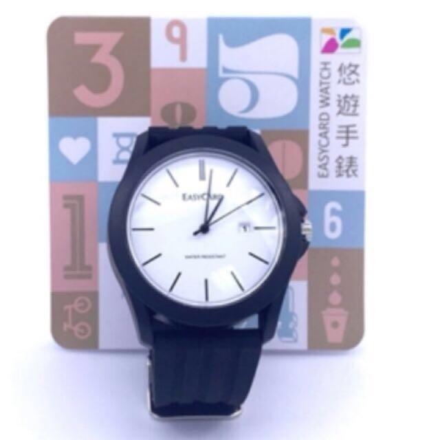 悠遊卡 手錶 悠遊錶-黑色經典