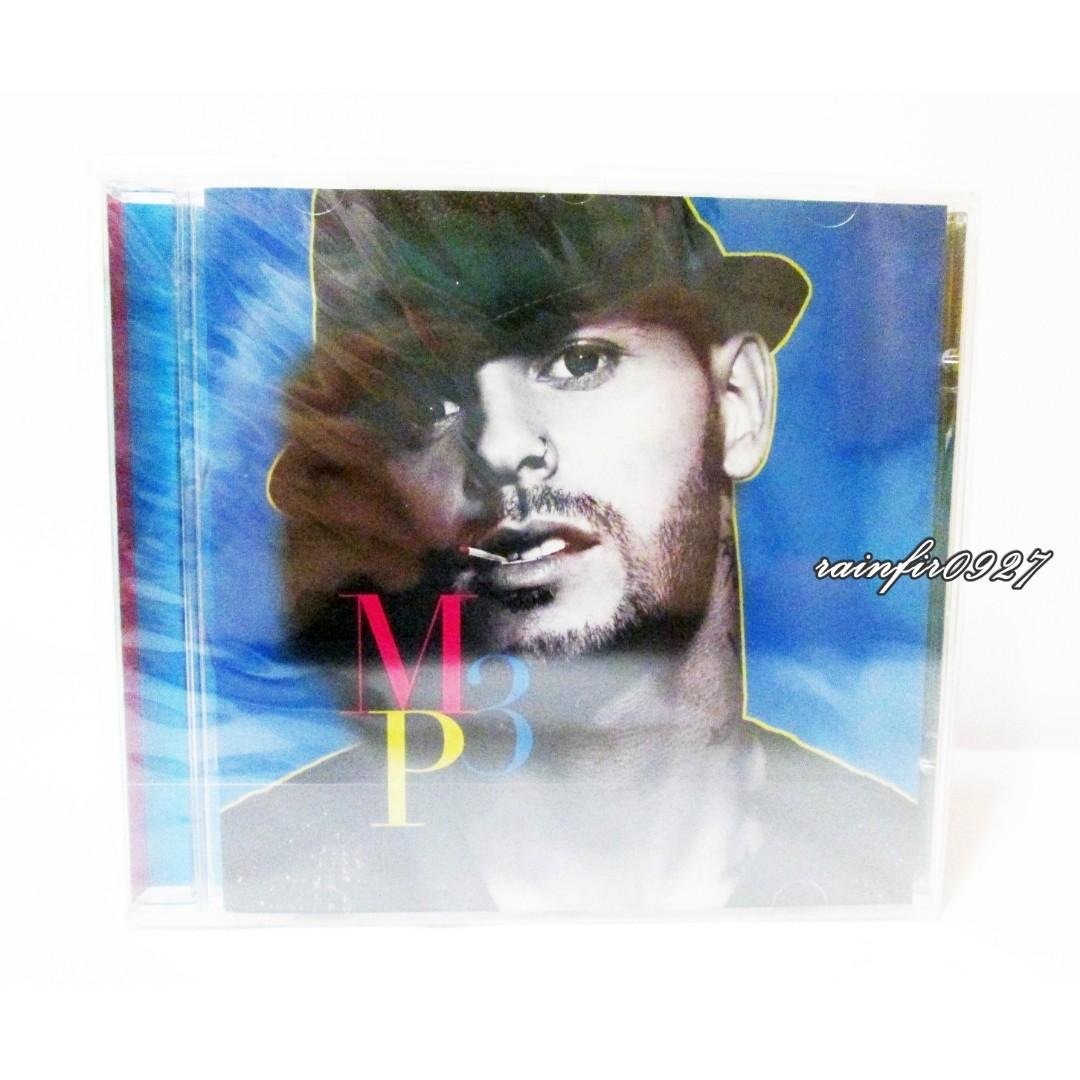現貨 全新未拆 M. Pokora 麥特波柯拉 小麥 MP3 法國男歌手 進口版 專輯 CD