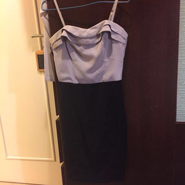 全新 H&M 連身裙 晚裝 上班OL