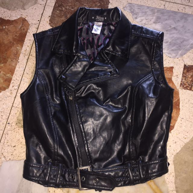 💛 Leather vest ((REPRICED))